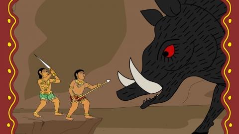 Hunting Boar
